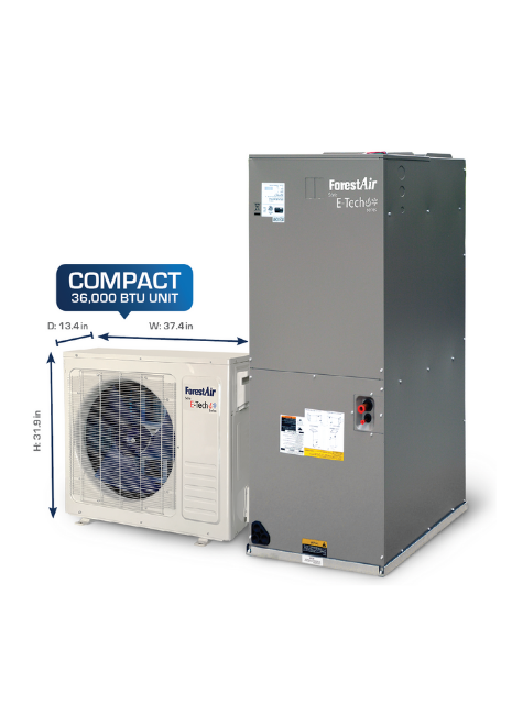 Ducted and Ductless Heat Pump